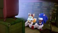 SB S1E50 Tails Sonic TV