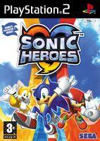 SonicHeroes PS2 UK Cover