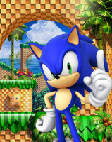 Sonic The Hedgehog 4 - Cover Artwork - (1)