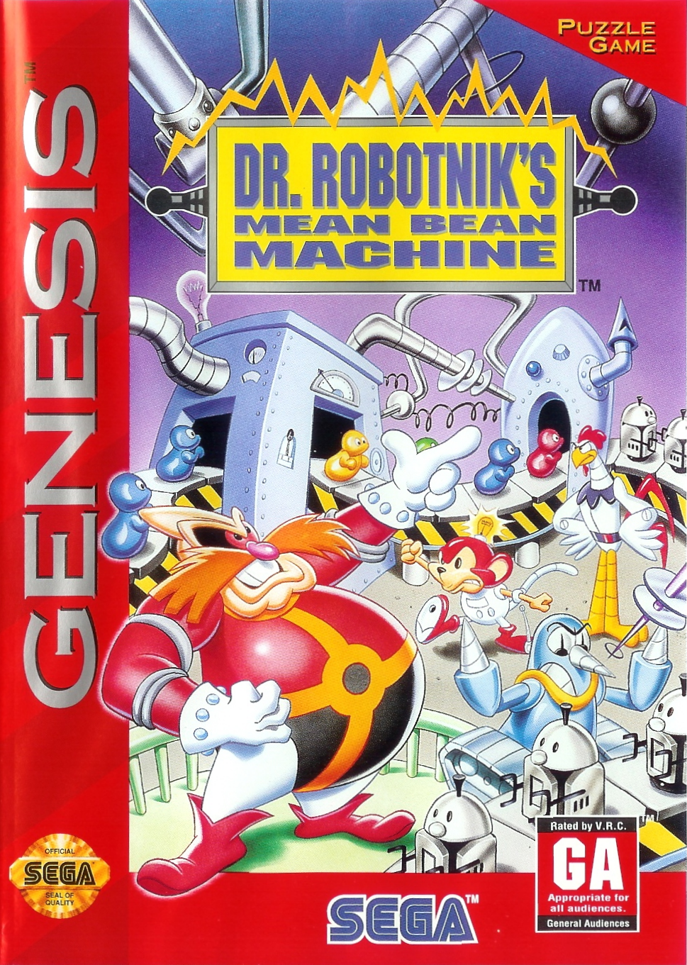 Dr. Robotnik's Mean Bean Machine (16-bit)