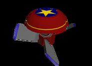 Propeller spring