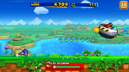 Sonic Runners screen 7