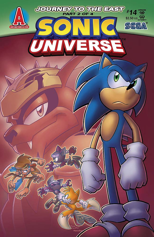 Sonic Universe Issue 14