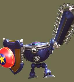 Egg Fighter: Knight (Spring shield)