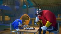 SB S1E38 Sonic vs Eggman chess
