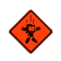 SG Warning Sign
