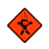 SG Warning Sign