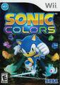 Sonic Colors Wii US front foil