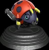 Sonic Generations Motobug Statue