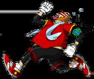 Eggman Running - Sonic Channel