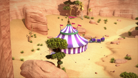 SB S1E12 Circus of Wonders in daytime