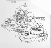 Sonic 2 Level Map Concept 01