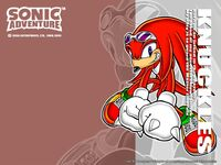 Wallpaper - Games - Sonic Adventure - Knuckles