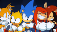 SonicTailsKnuxMightRay