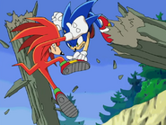 Sonic kontra Knuckles ep 5