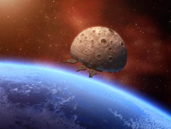 Космическая колония ARK