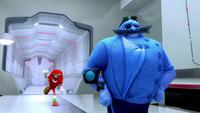 SB S1E08 Blue Eggman vs Knuckles 2