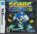 Sonic Colors DS US front foil
