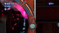 Pink Spikes Sonic Generations Spin Dash Attack