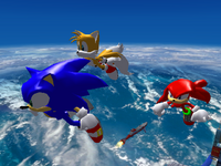 Result Screen - Egg Fleet - Team Sonic