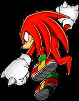 Sonic Art Assets DVD - Knuckles - 3