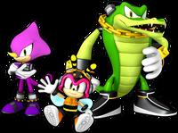 Sonic Runners Chaotix