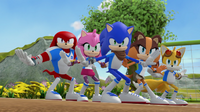Team Sonic dance