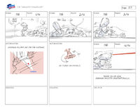 Unlucky Knuckles storyboard 16
