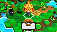 Windy Hill Circus overworld