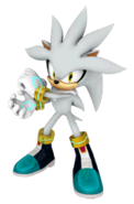 Silver-mario and sonic at the olympic wintergames