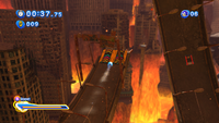 Sonic Generations @ Crisis City to tricks