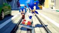 Sonic Generations City Escape