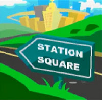 Sonic X Leapster Station Square Intro