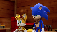 SB S1E08 Sonic Tails vacuum defeated
