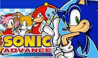 Sonic Advance JP main art alt