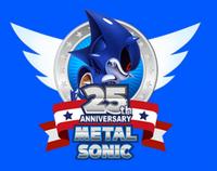 Metal Sonic 25th logo