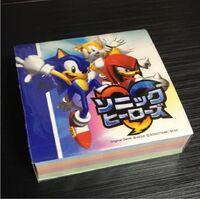Sonic Heroes JP notepad