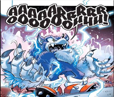 Sonic the werehog Archie