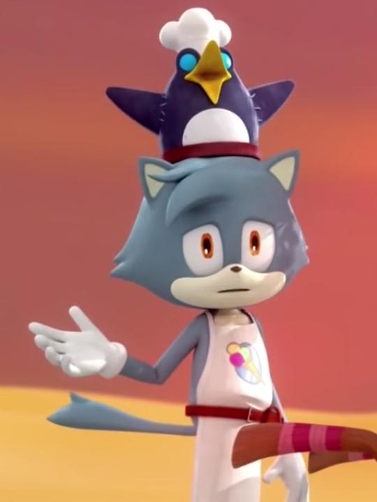 Ice Cream Vendor (Sonic Boom)