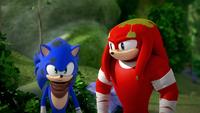 SB S1E25 Sonic Knuckles dirt