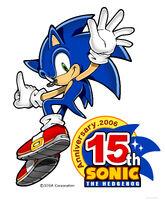 Sonic 15th art