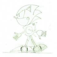 Metal Sonic CD concepts 4
