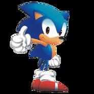 Sonic Sonic Triple Trouble art 2