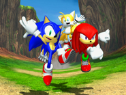 Team Sonic (Sonic Heroes ending)