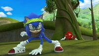 S1E44 Hipster Sonic pose