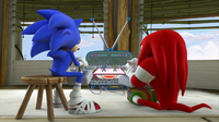 SB S1E14 Sonic Knuckles video game