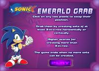 Sonic Emerald Grab