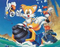 Tails Adventure main art