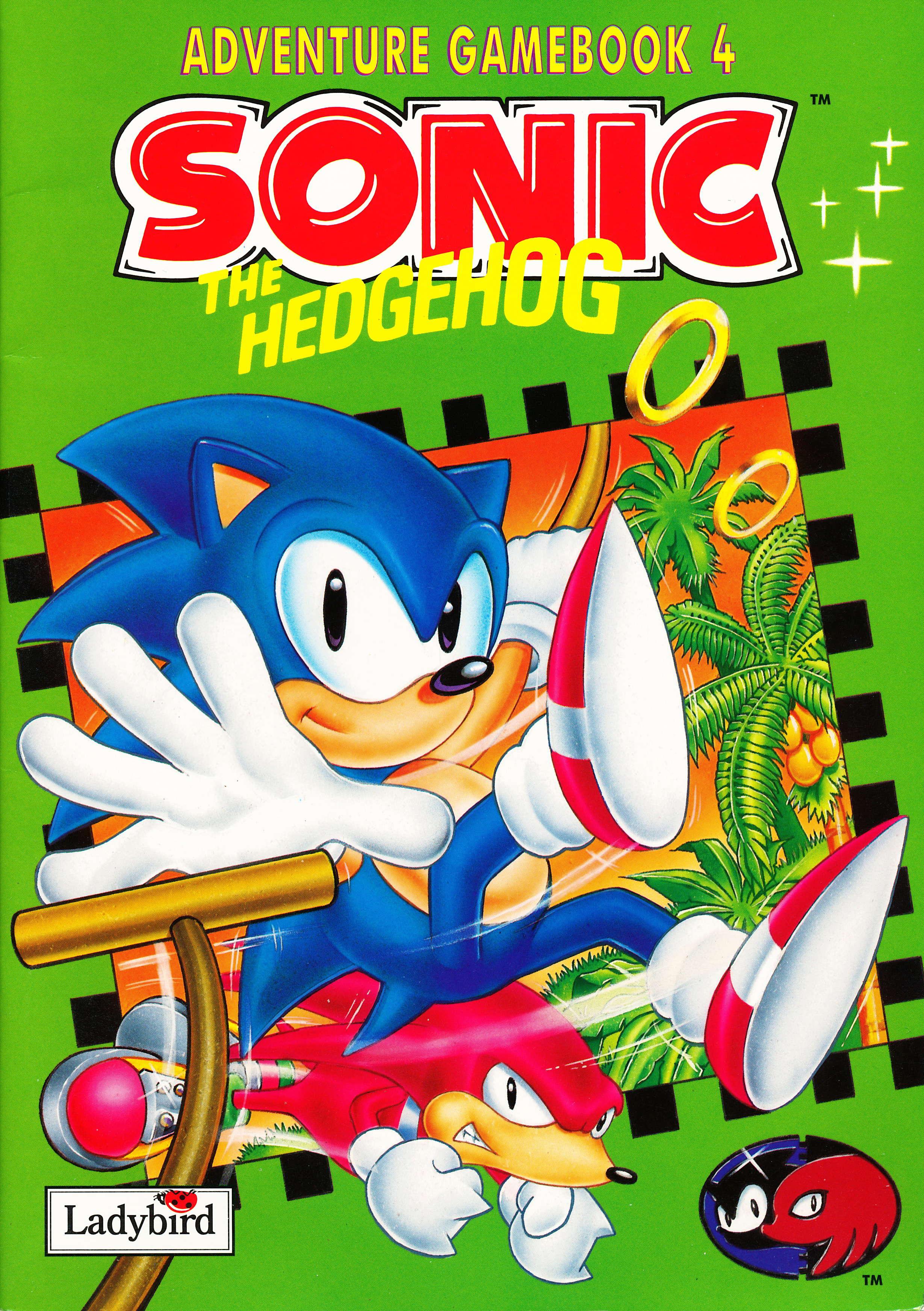 Sonic the Hedgehog Adventure Gamebook 4