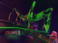 Graveyard Gig Giant Spider